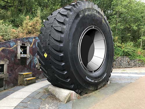 Eden Project Mining Tyre