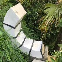 Broken ceramic ring sculpture