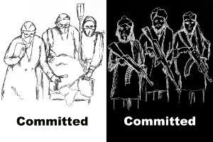 Commitments - contrast between good and bad ones