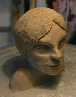 This is my best effort at making a sculpture of Beryl's head